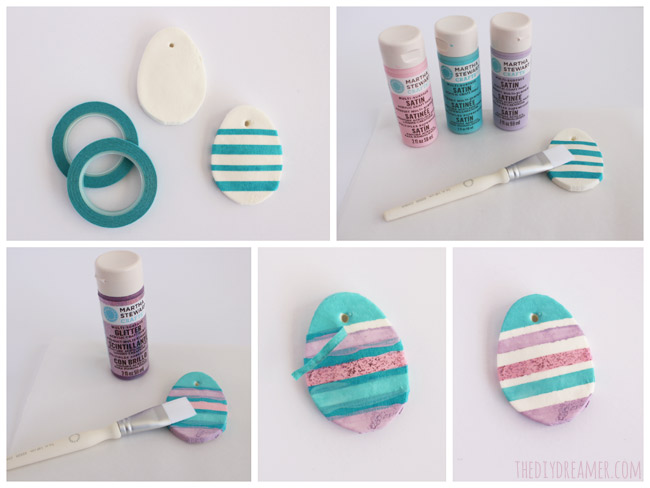 How to decorate Baking Soda Easter Eggs