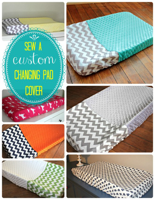 How to sew custom changing pad cover