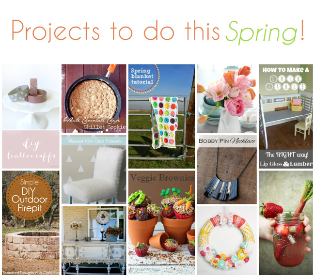 Projects to do this Spring!
