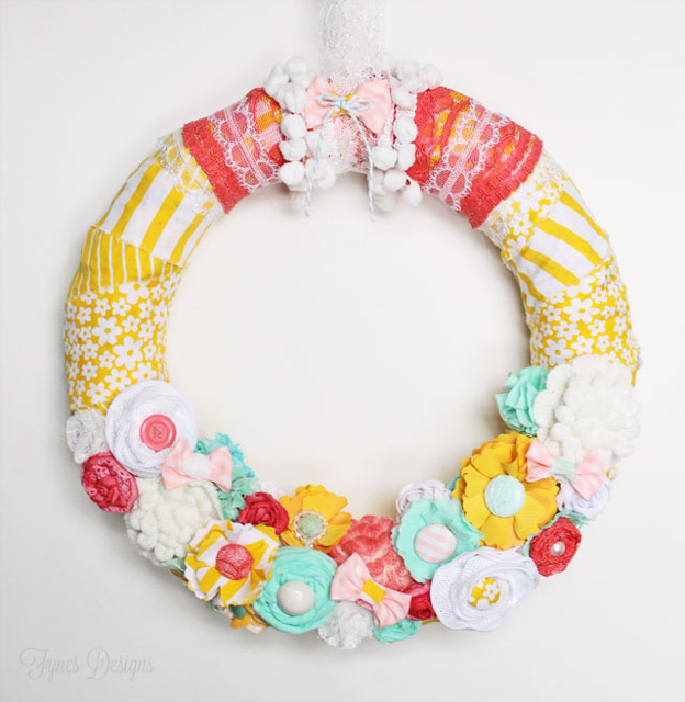 Gorgeous Welcome Spring Wreath