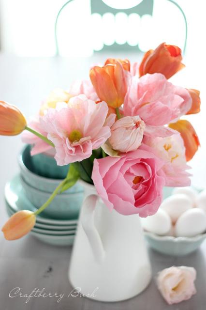 Crepe Bouquet - Crepe Peony Tutorial