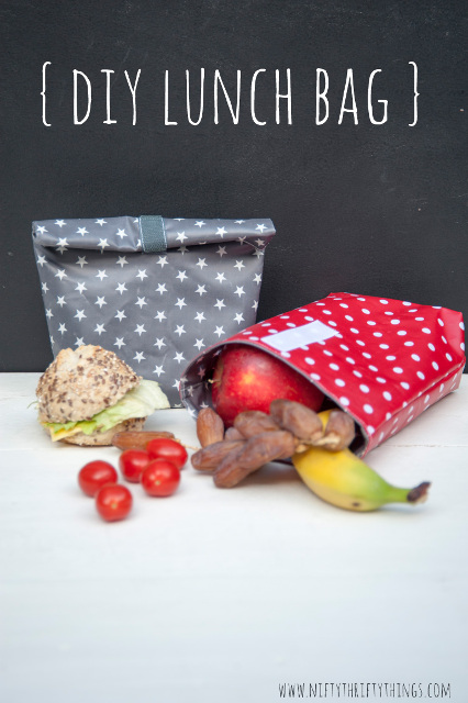 DIY Lunch Bag Tutorial