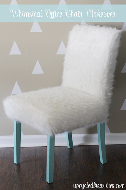 Whimsical Office Chair Makeover