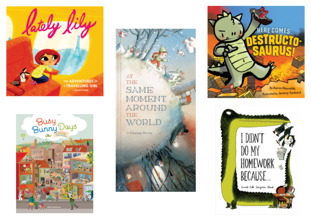Spring Picture Books from Raincoast Books and Chronicle Kids