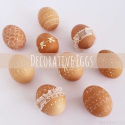 Decorative Eggs - Easter Eggs