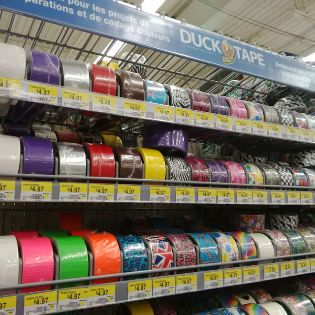 Duck Tape® at Walmart - #TheDuckAtWalmart