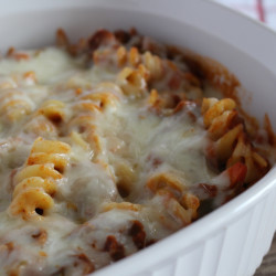 Spaghetti Dish with Kraft Shredded Cheese with a Touch of Philadelphia - #MemorableMelts