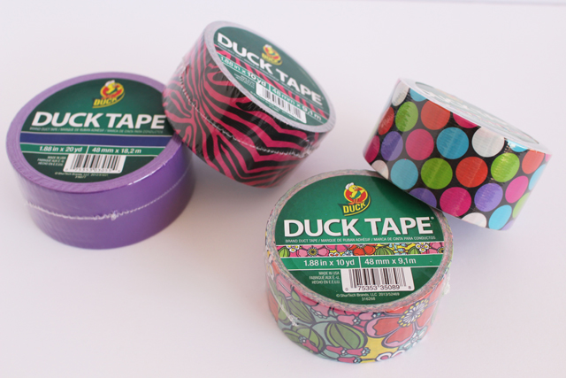 Printed and Color Duck Tape® - #TheDuckAtWalmart