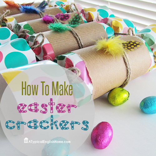 How to make Easter crackers