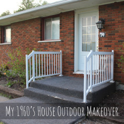 My 1960's house needs an outdoor makeover