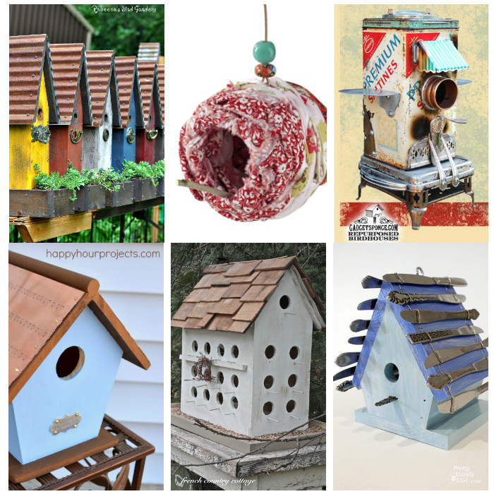 20+ Stunning Bird Houses – A collection of beautiful Birdhouses