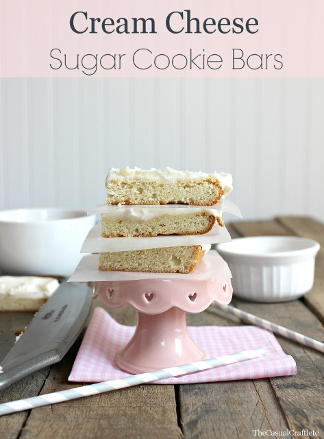 Cream Cheese Sugar Cookie Bars
