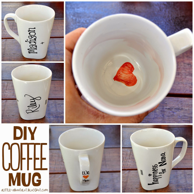 DIY Coffee Mug - Decorated with a Sharpie