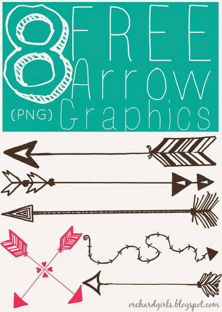 FREE Hand Drawn Arrow Graphics