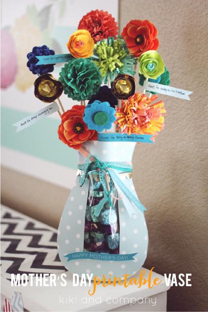 Gorgeous PRINTABLE Vase!