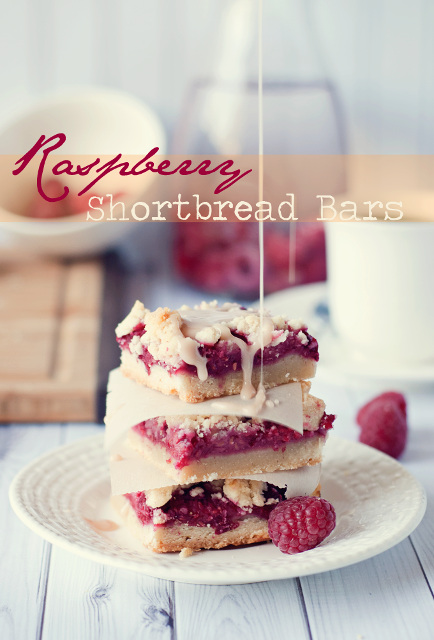 Delicious Raspberry Shortbread Bars