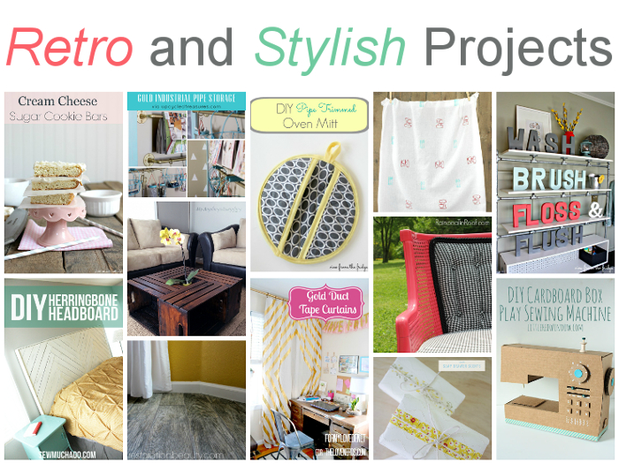12 Retro and Stylish Projects!! Lots of eye candy that you can create yourself!