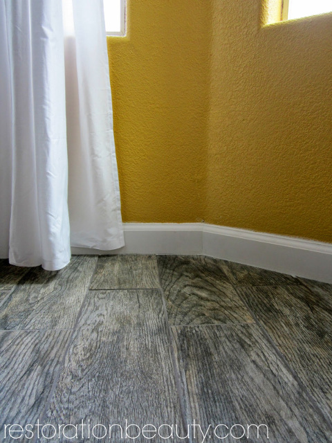 Gorgeous Faux Wood Tile Flooring