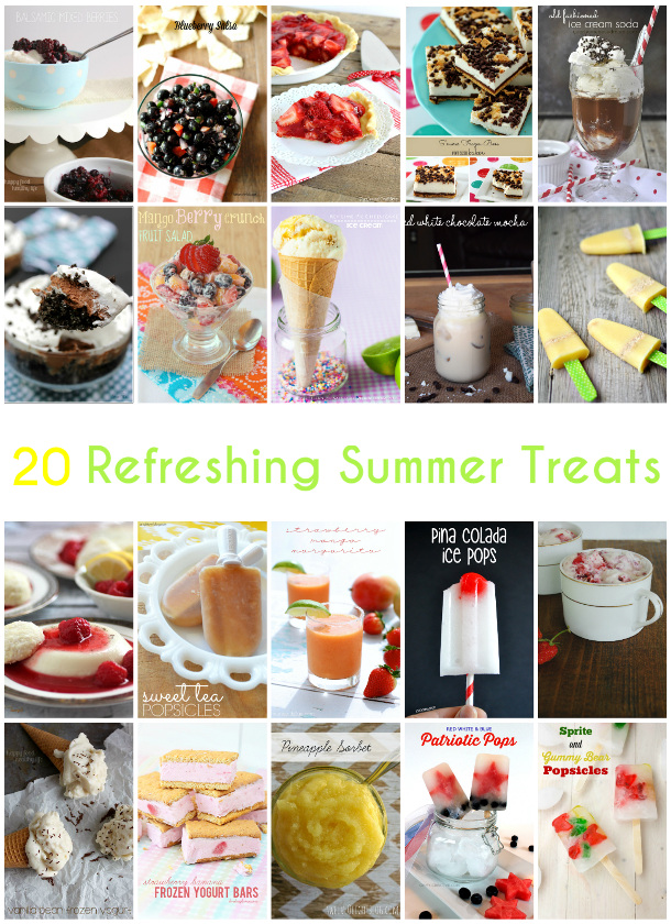 20 Refreshing Summer Treats!