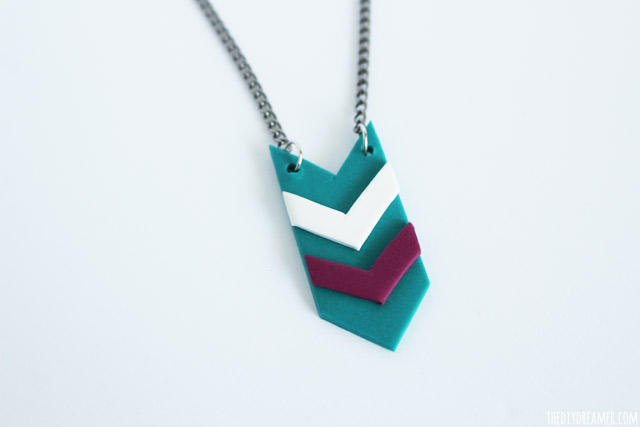 Aztec Style Jewelry made with clay!