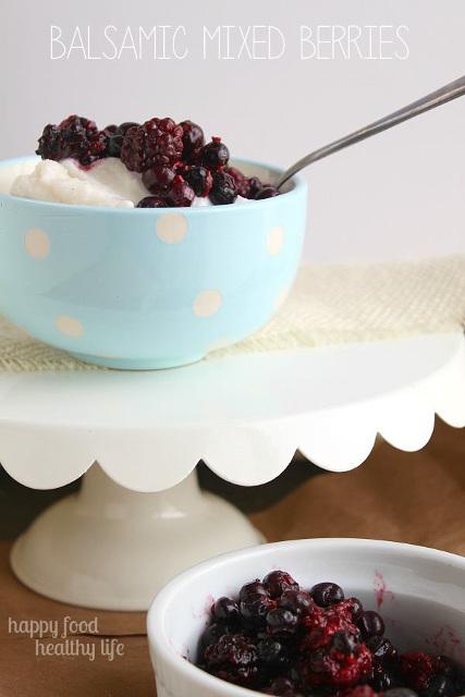 Balsamic Mixed Berries