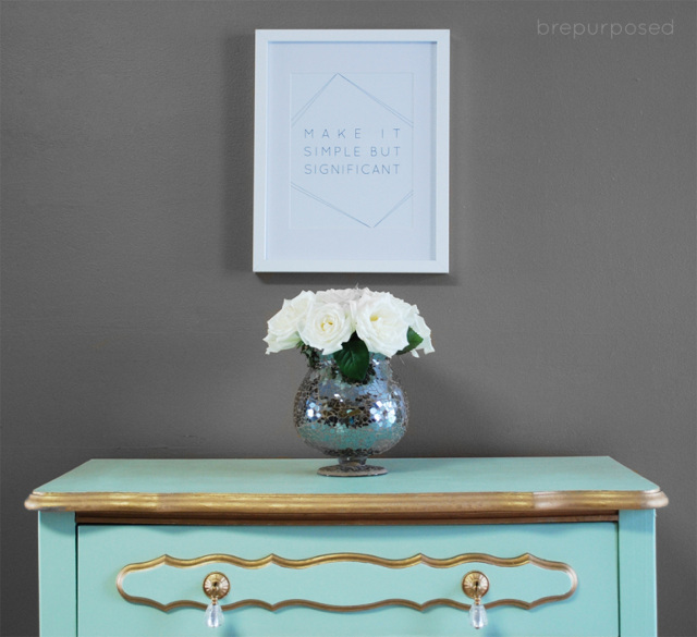 French Provincial Dresser Transformation