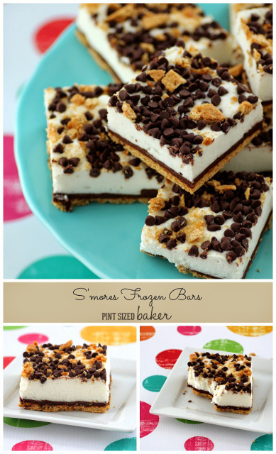 Frozen Coconut S'mores Bars - Perfect Summer Camping Treat