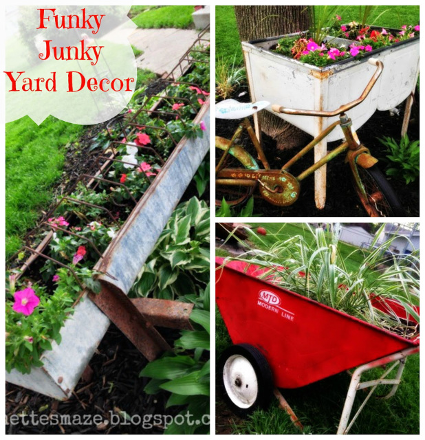 10 outdoor planters and more fromdreamtoreality 121 for Funky garden accessories
