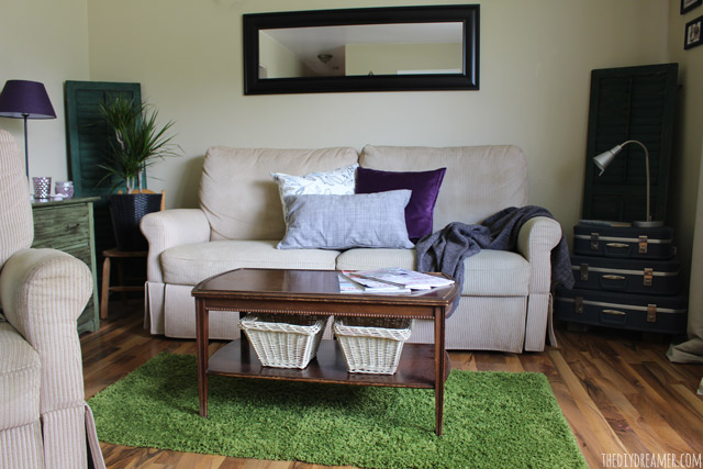 Living Room IKEA Makeover