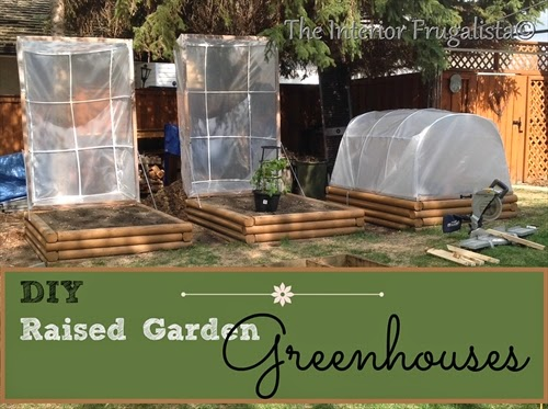 DIY Greenhouses for Raised Garden Beds