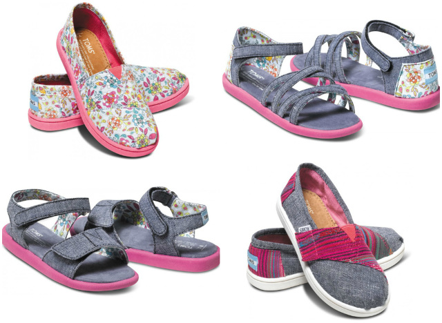 Stylish Kids Shoes For A Good Cause Toms Tomscanada