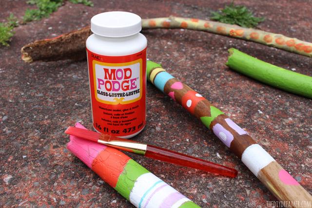 Mod Podge as a paint sealer