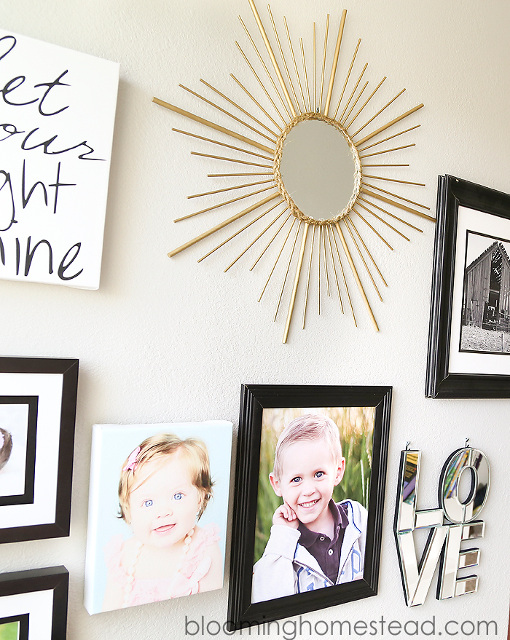 Learn how to make a Sunburst Mirror!