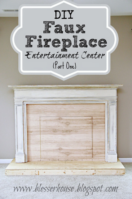 Diy Faux Fireplace For Under 600 The Big Reveal Bless 39 Er House