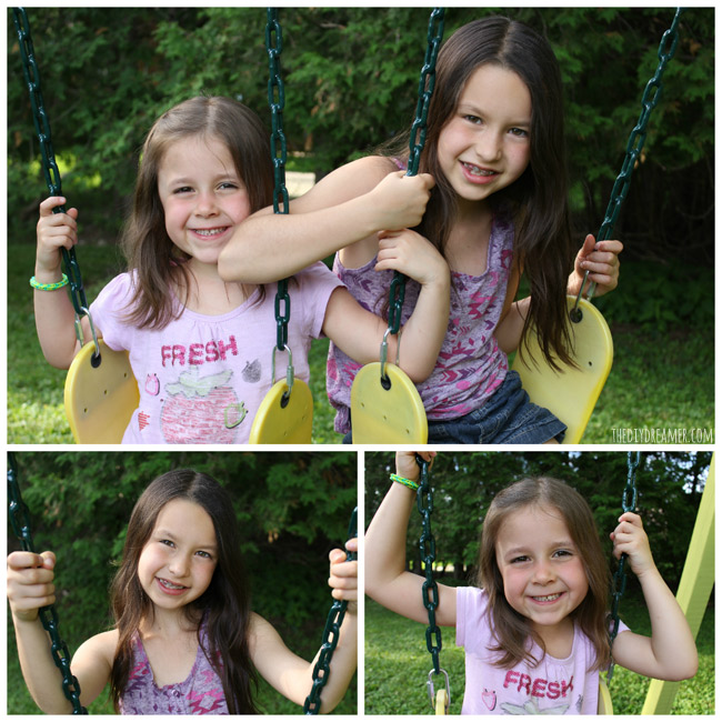 My Daughters on their swings!