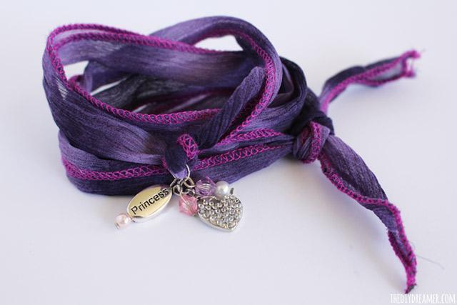Silk Wrap Bracelets Tutorial By Gabrielle 9 Years Old