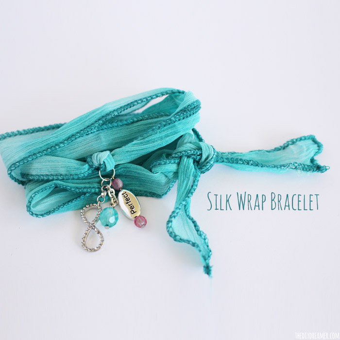 Silk Wrap Bracelets – Tutorial by my daughter Gabrielle