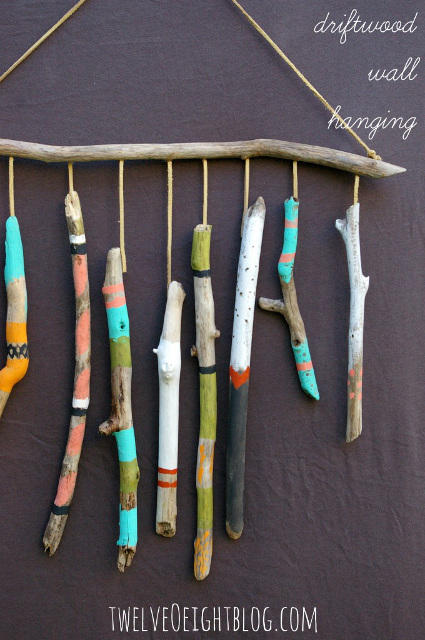 Driftwood Wall Hanging - Fun Creations