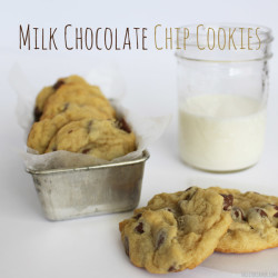 Milk Chocolate Chip Cookies Recipe - Yummy Cookies!