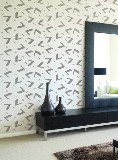 Fire Sparks, African arrows, Scandinavia Decorative Wall Stencil for DIY project