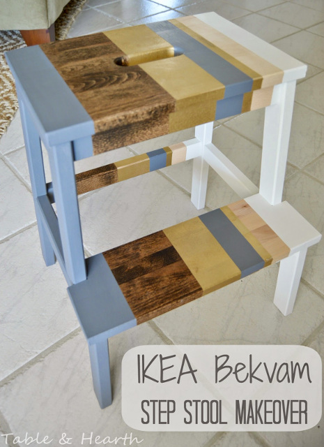 IKEA Bekvam Step Stool Makeover