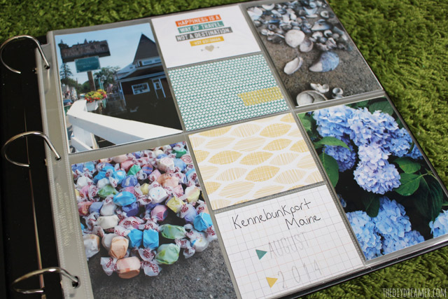Scrapbooking with Project Life by by Stampin' Up