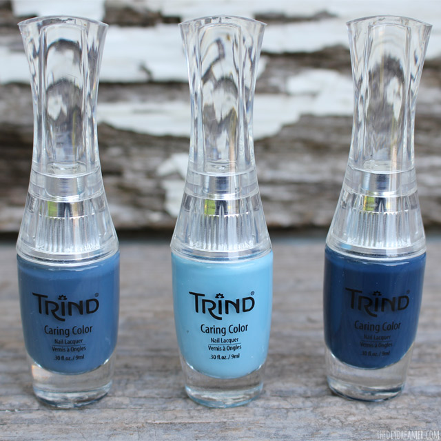 Trind Nail Polish - Knock It Out Of The Park set of blues