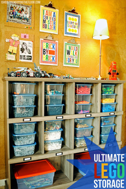 Ultimate Lego Storage - How to organize Legos