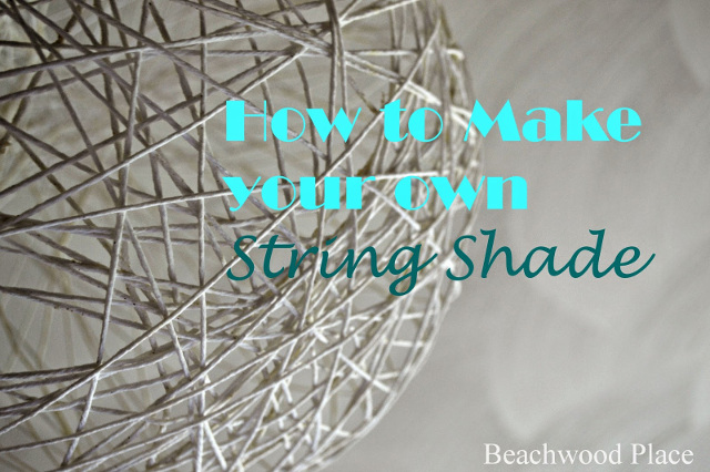 How to make your own string shade