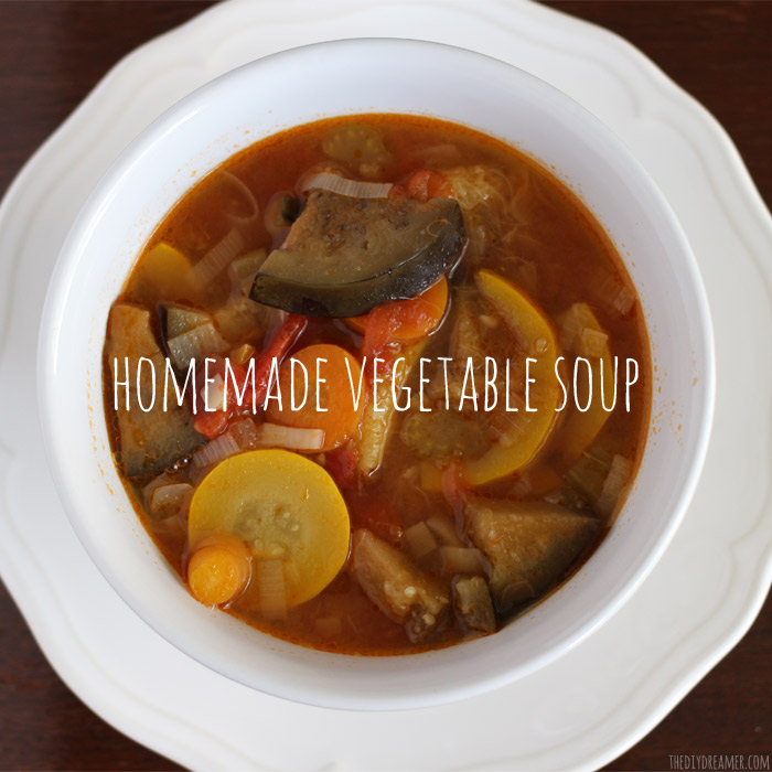 Easy Homemade Garden Vegetable Soup Recipe