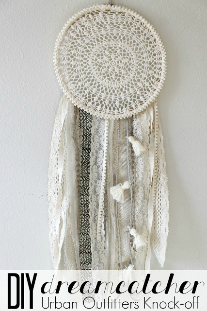 DIY Dreamcatcher: Urban Outfitters Knock Off - Dream Catcher DIY