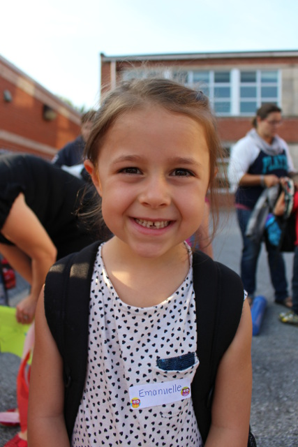 First Day of School - Kindergarten