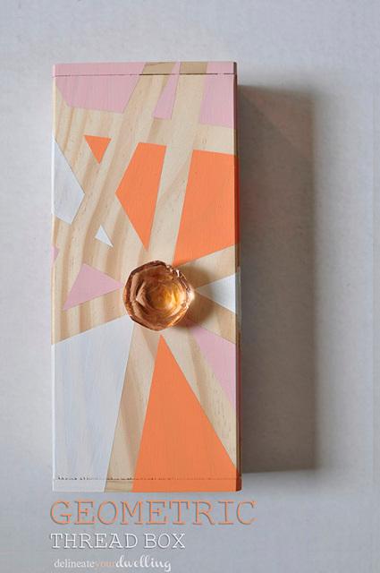 Geometric Thread Box