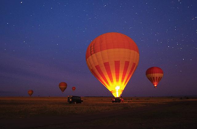 Energy 4 Seven Billion - Hot Air Balloon